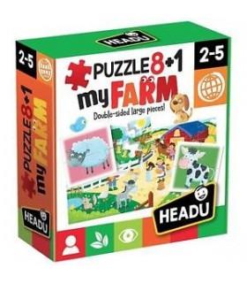 8+1 Primul Meu Puzzle Ferma