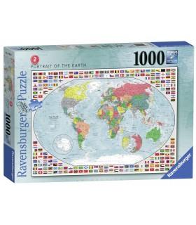 Harta Lumii 2, 1000 Piese