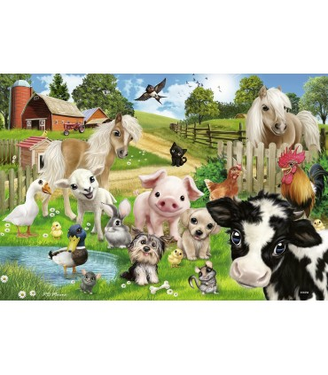 Ferma Animalelor, 2 x 24 Piese