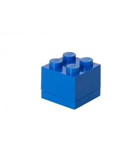 Mini Cutie Depozitare LEGO 2x2 Albastru Inchis (40111731)