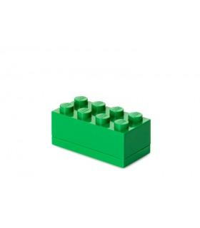 Mini Cutie Depozitare LEGO 2x4 Verde Inchis (40121734)