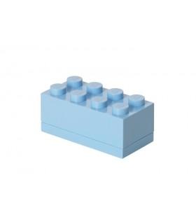 Mini Cutie Depozitare LEGO 2x4 Albastru Deschis (40121736)