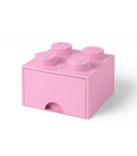 Cutie Depozitare LEGO 2x2 Cu Sertar, Roz (40051738)