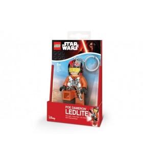 Breloc Cu Lanterna LEGO Star Wars Poe Dameron