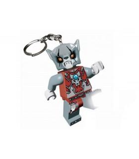 Breloc Cu Lanterna LEGO Chima Worriz