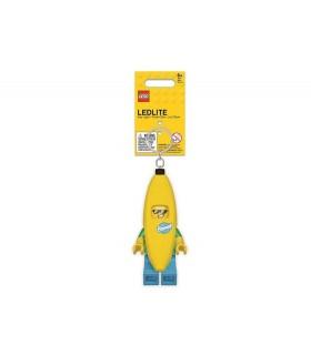 Breloc Cu Lanterna LEGO Classic Tipul Banana