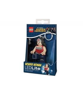 Breloc Cu Lanterna LEGO DC Super Heroes Wonder Woman