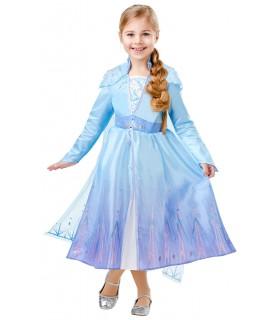 Costum Elsa Frozen 2 Deluxe, L