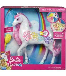 Barbie Dreamtopia Unicorn Cu Lumini Si Sunete