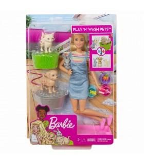 Barbie Family Set De Joaca Cu Animalutele