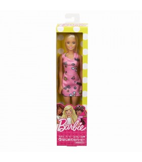 Barbie Blonda Si Cu Rochita Roz