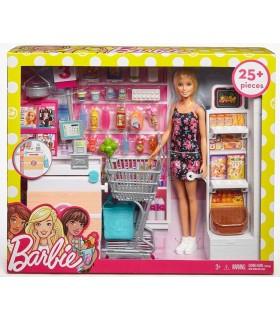 Barbie Cu Set De Joaca Supermarket