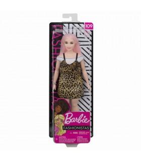 Barbie Cu Parul Roz