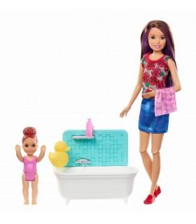 Barbie Mamica Satena Cu Bebelus