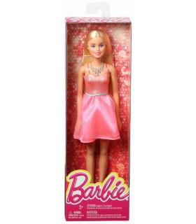Barbie Tinute Stralucitoare Blonda Cu Rochita Roz Deschis
