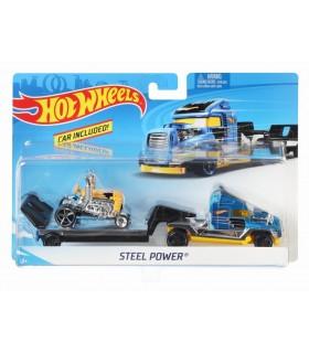 Set Camion Si Masina Sport Steel Power