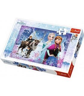 Aventuri Iarna Frozen, 160 Piese