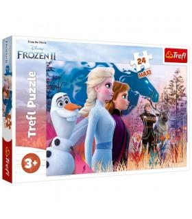 Frozen2 Calatoria Magica, 24 Piese Maxi