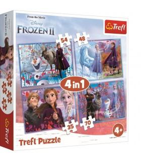 Frozen2 Calatorie Catre Necunoscut, 4-In-1