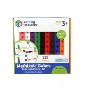 Set 100 Piese Mathlink Cu Carduri Pentru Incepatori