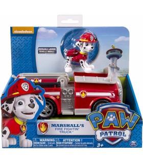 Masina Pompierului Marshall Cu Figurina