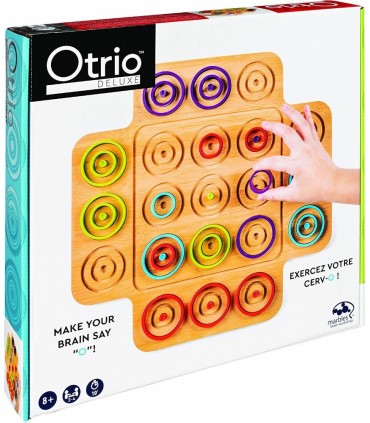 Joc Marbles Otrio Deluxe Edition Din Lemn