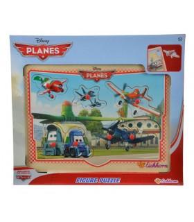 Puzzle Lemn Planes