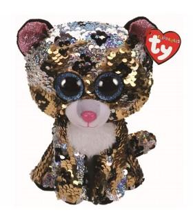 Boos Leopardul Sterling Cu Paiete, 24 cm