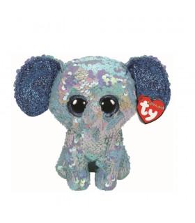 Boos Elefantul Stuart Cu Paiete, 15 cm