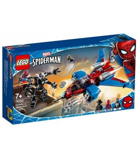 Spiderjet Contra Robotul Venom