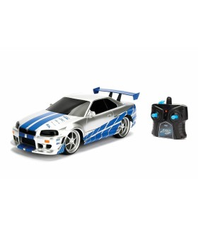 Fast And Furious Rc Nissan Skyline Gtr Scara 1 La 16