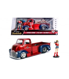 Wonder Woman & 1952 Chevy Coe Pickup