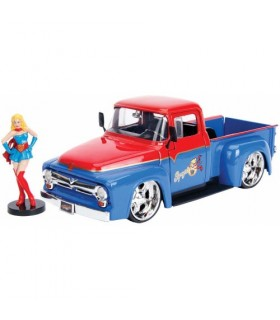 Supergirl & 1956 Ford F-100 Pickup