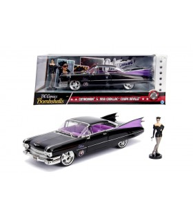 Catwoman & 1959 Cadillac Coupe Deville