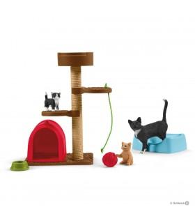 Loc De Joaca Pentru Pisici Dragute