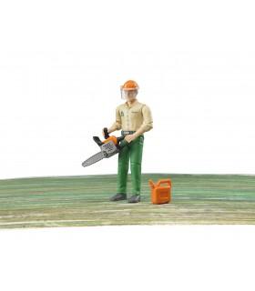 Muncitor Forestier Cu Drujba