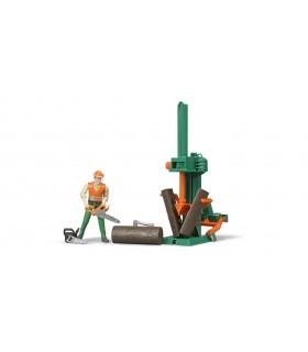Muncitor Forestier Cu Accesorii