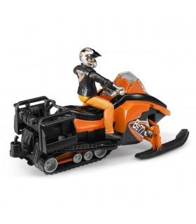 Snowmobil Cu Figurina Barbat Si Accesorii