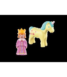 1.2.3 Printesa Cu Unicorn