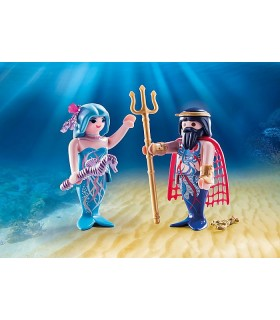 Set 2 Figurine - Rege Si Sirena