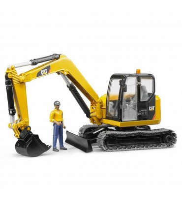 Mini-Excavator CAT & Muncitor