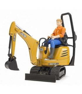 Excavator JCB 8010 CTS & Figurina