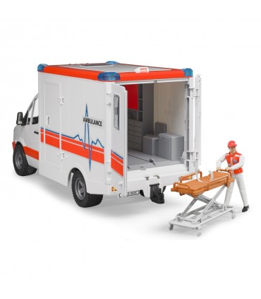 Ambulanta Mercedes Benz Sprinter Cu Paramedic