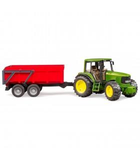 Tractor John Deere 6920 Cu Remorca Basculabila