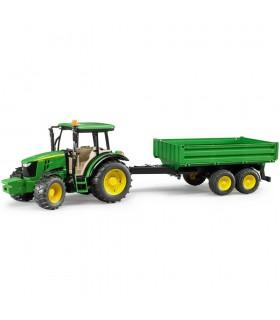 Tractor John Deere 5115M Cu Remorca