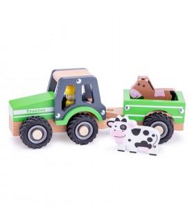 Tractor Cu Trailer Si Animalute
