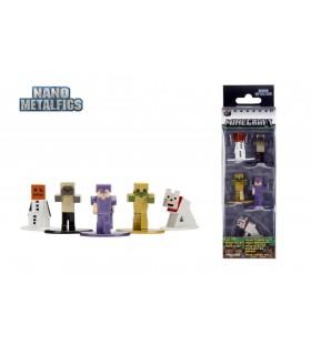 Minecraft Set Figurine Metalice