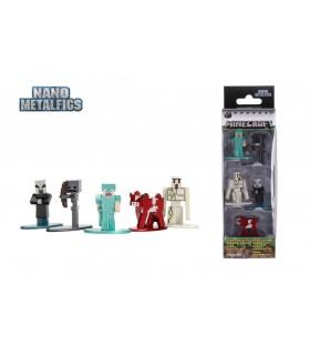 Minecraft Set 5 Figurine Metalice
