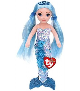 Sirena Albastra Cu Paiete, 27 cm