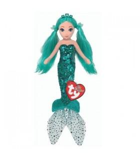 Sirena Turcoaz Cu Paiete, 27 cm